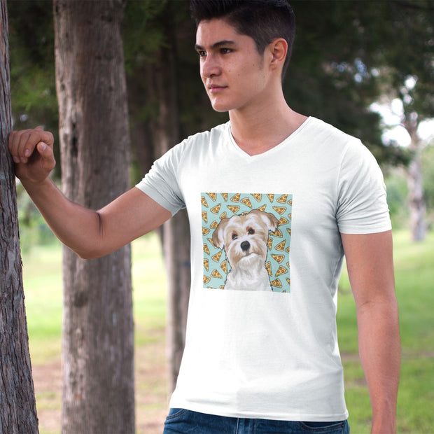 Custom Pet Shirt - Men's V-Neck