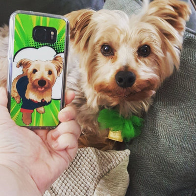 longhaired-whippet-phone-case