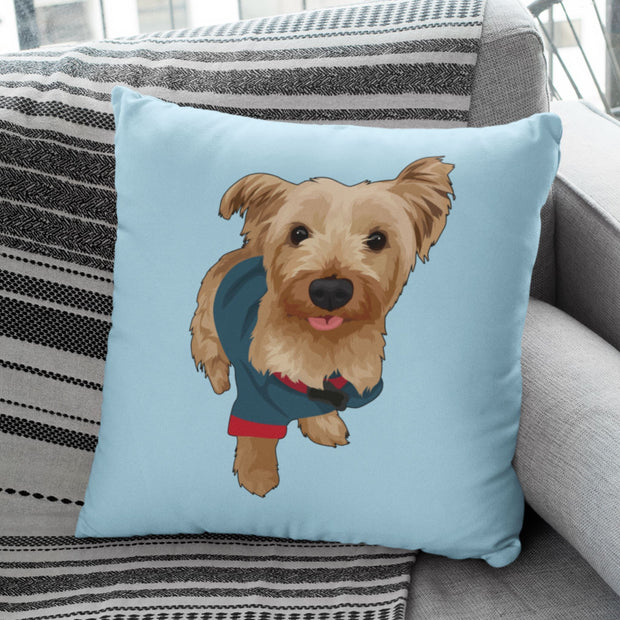 kerry-blue-terrier-pillow