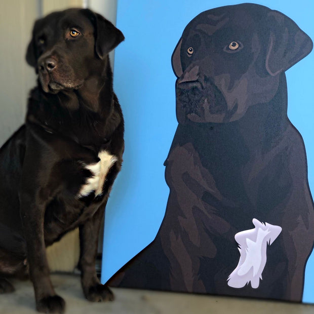 Pet Canvas Art Your Dog or Cat