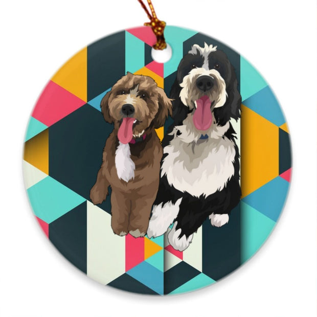 black-and-tan-coonhound-ornament