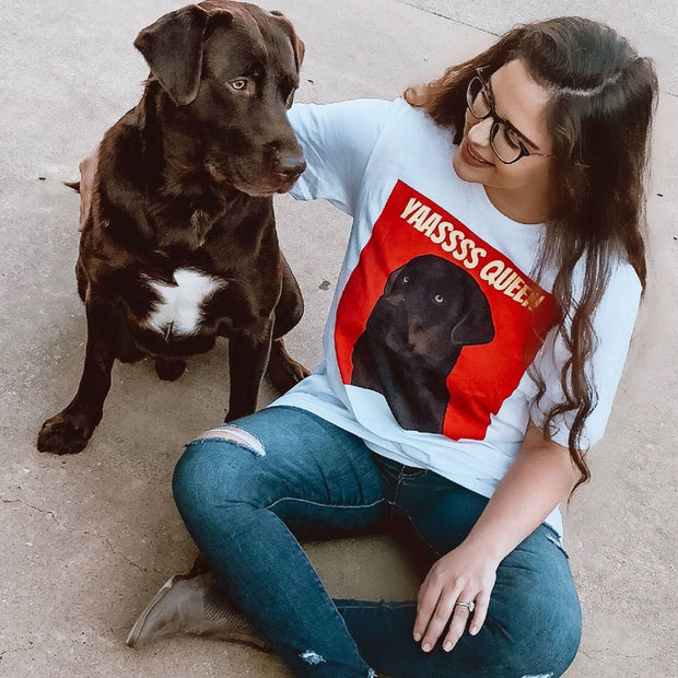 Custom Pet Shirt - Women's Crew Neck
