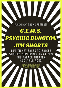GEMS / Psychic Dungeon / Jim Shorts