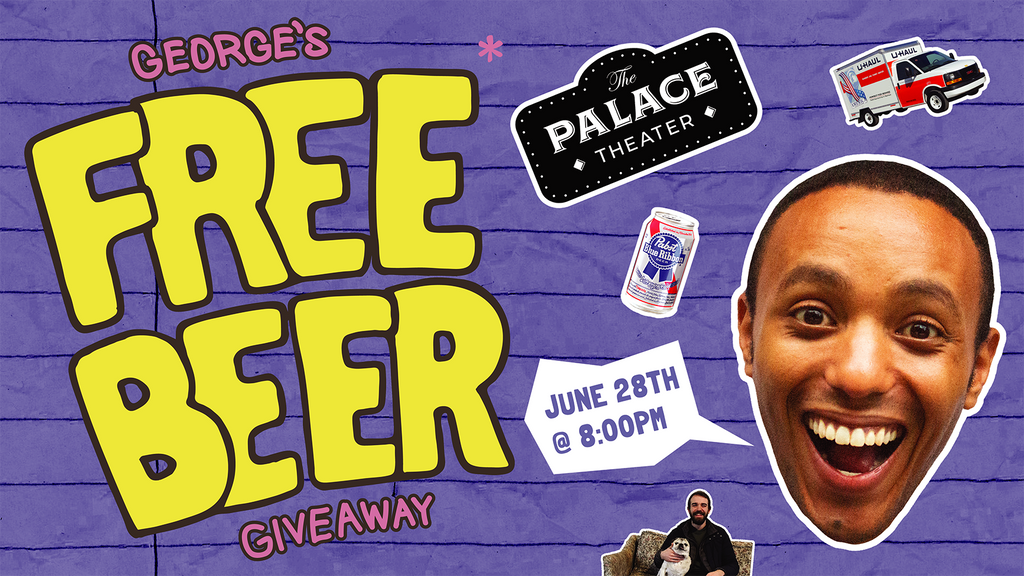 George's Free Beer Give Away