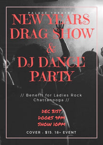 NYE Drag Show & Dance Party