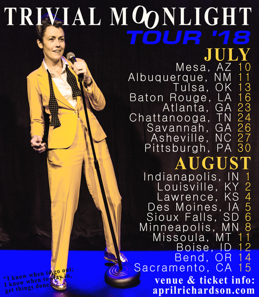 April Richardson - Trivial Moonlight Tour