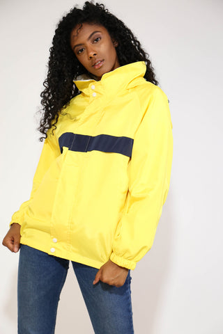YELLOW COACH WINDBREAKER JACKET