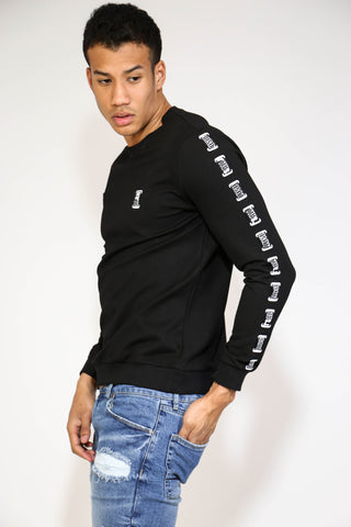 LONG SLEEVED FITTED ILLUSION T-SHIRT