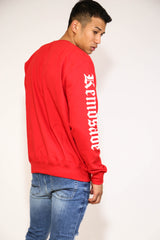 KEMOSABE RED SWEATSHIRT