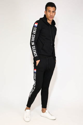 STAY COOL IN SILENCE TRACKSUIT JOGGER BOTTOMS