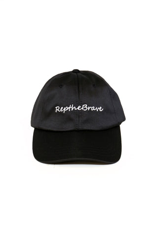 REP THE BRAVE SATIN BASEBALL HAT