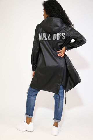 MR. ZUBS BLACK LONGLINE JACKET