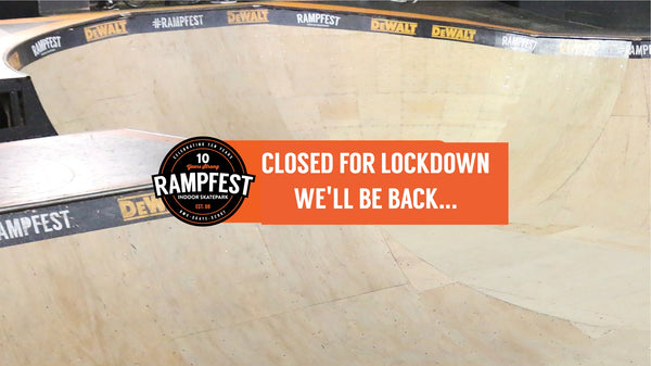 RampFest on Lockdown... but we'll be back!