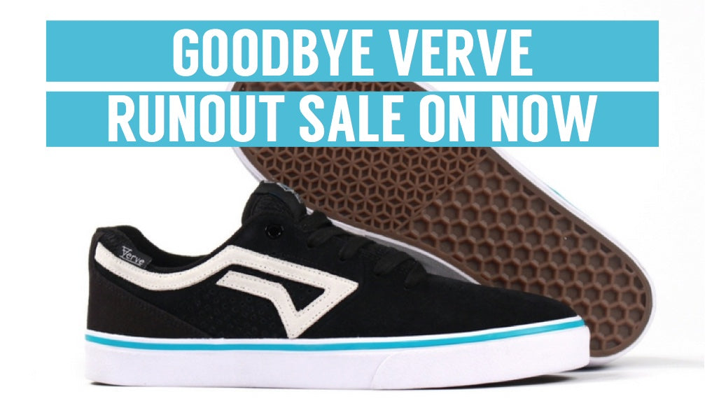 Goodbye Verve Footwear Sale