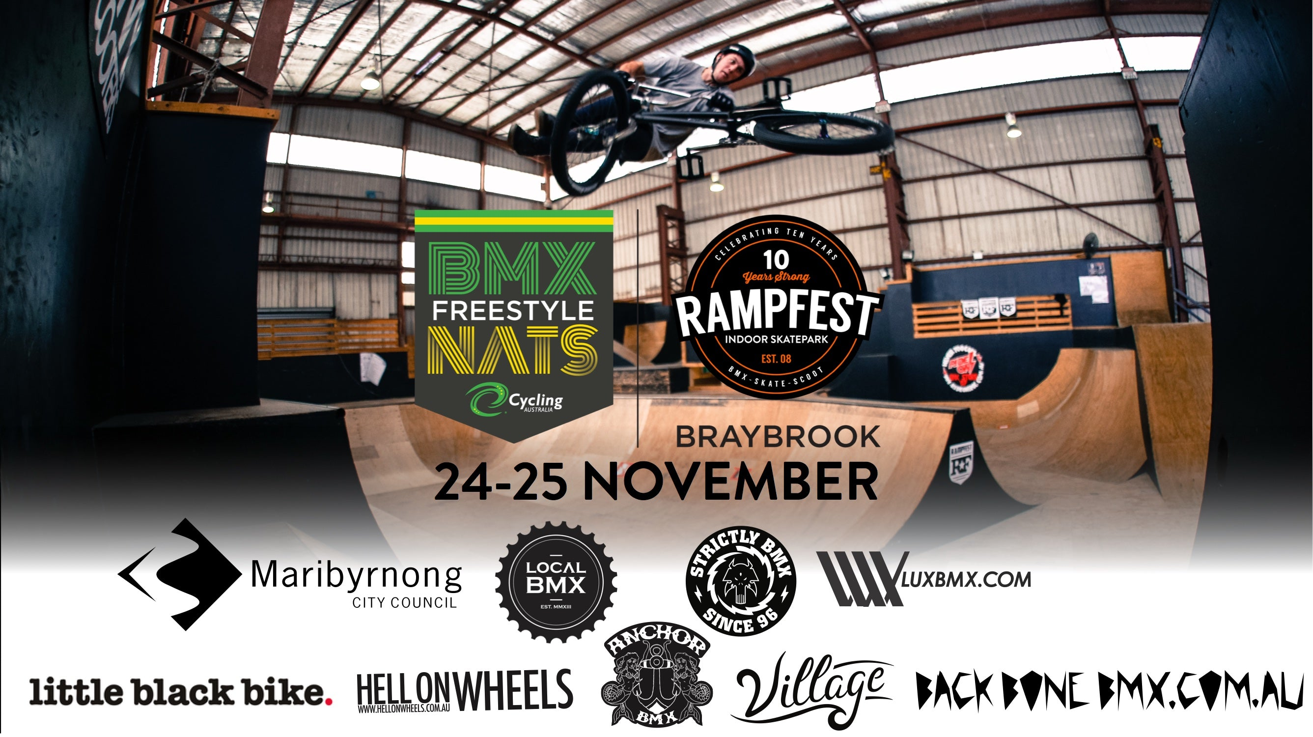 Freestyle BMX Nationals are coming to Rampfest!