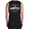 Youth Rampfest 10 Year Anniversary Tank - Black/White