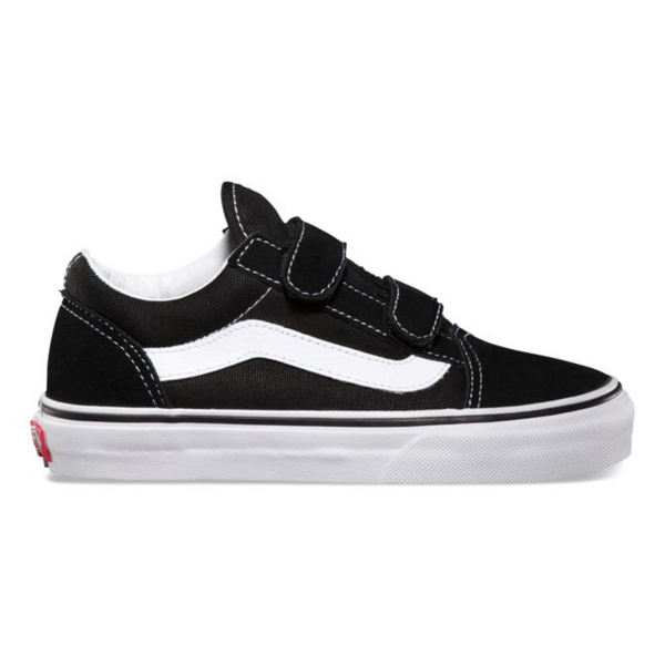 Vans Old Skool Velcro - Black/White (Kids)