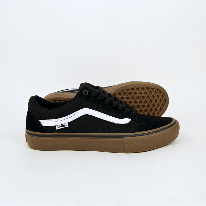 02cfcb86733 Vans Old Skool Pro - Black White Gum - Rampfest
