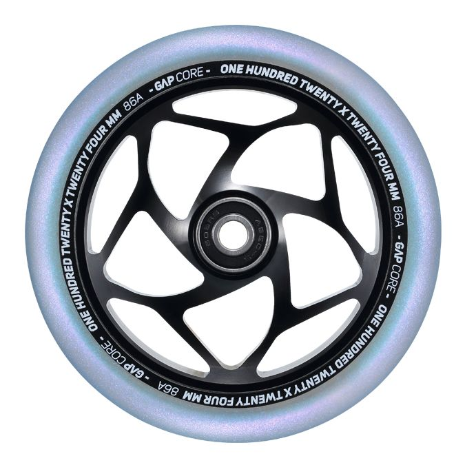 Envy Gap Core Wheels - Black/Galaxy - 24mm x 120mm - Pair