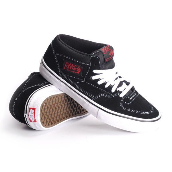 Vans Half Cab Pro - Black/White/Red
