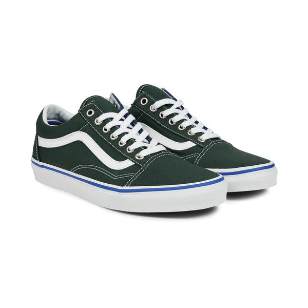 Vans Old Skool - Green / True White