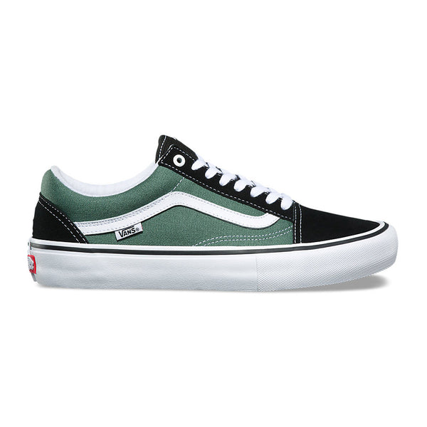 Vans Old Skool Pro - Black/Duck Green