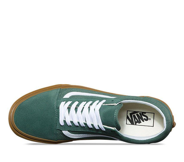 Vans Old Skool - Duck Green/Gum