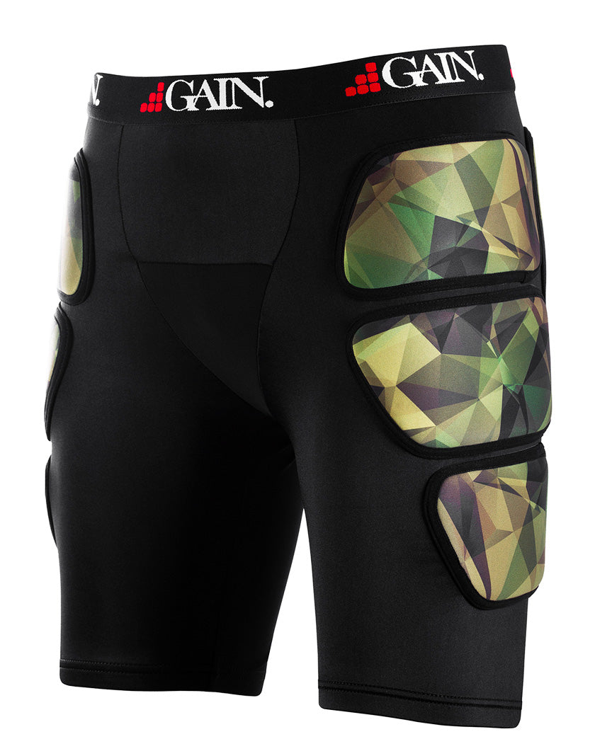 GAIN Protection THE SLEEPER Hip/Bum Protectors - Camo
