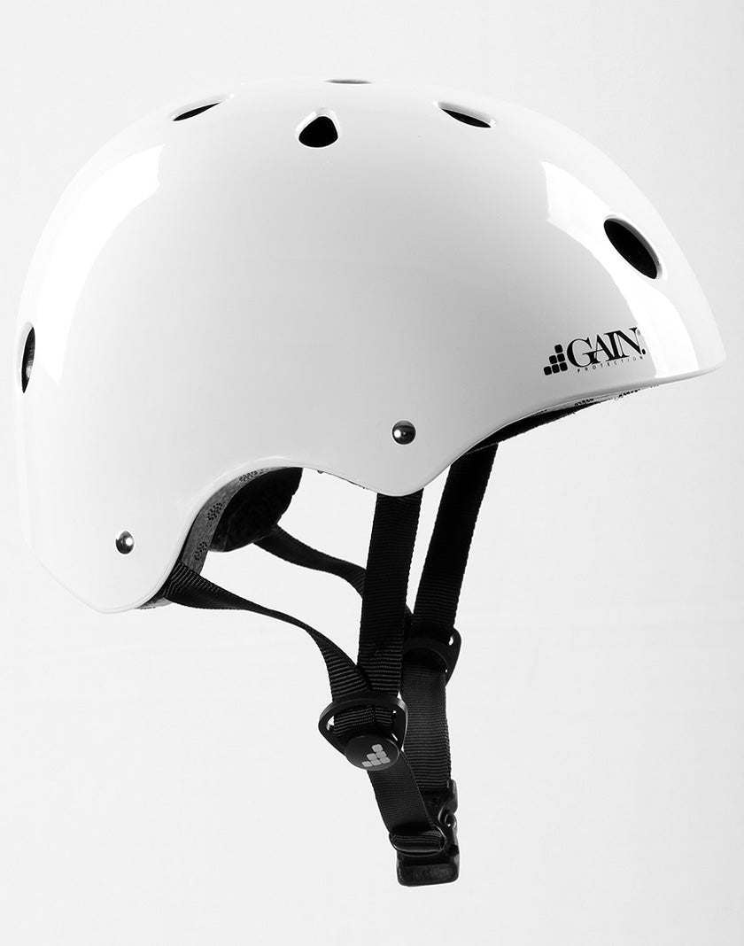 Gain Protection THE SLEEPER Helmet - Glossy White