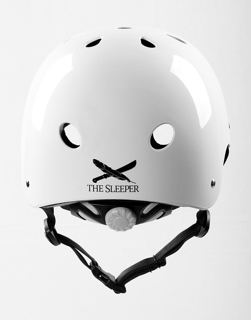 Gain Protection THE SLEEPER Helmet, XS-S-M, With ADJ. - Glossy White