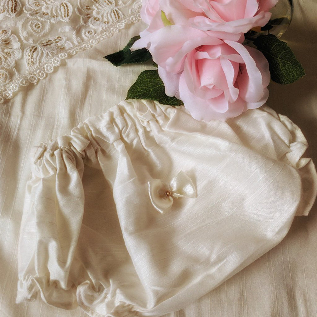 Tiffany Silk Baptism/Christening Gown Set