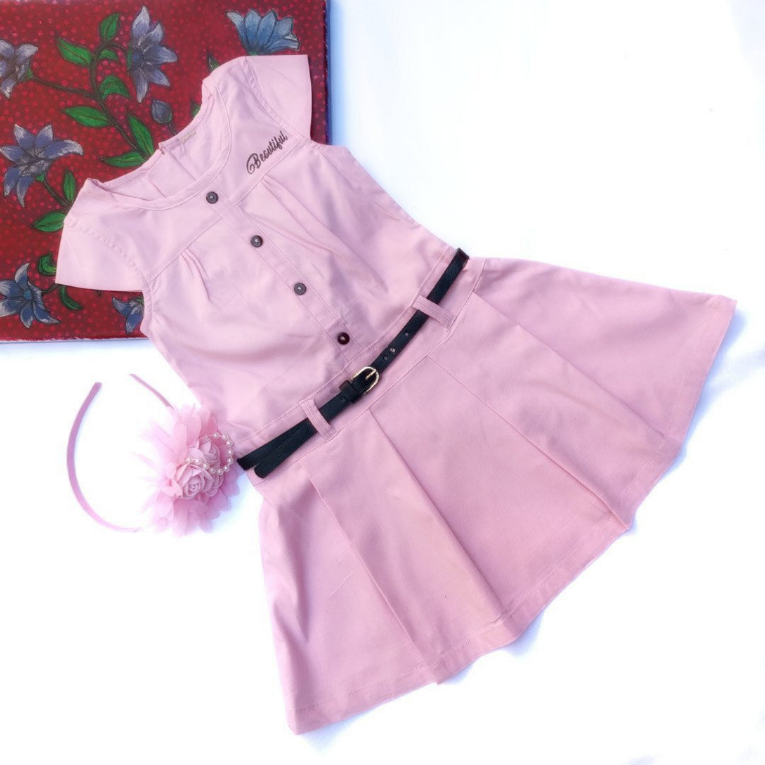 Classy Zara - Baby Pink with accessories