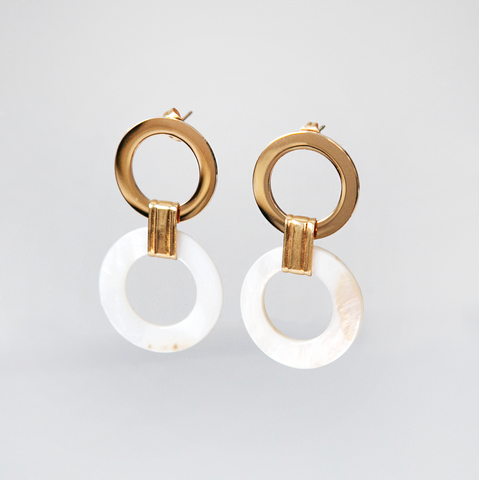 Two rings Earrings