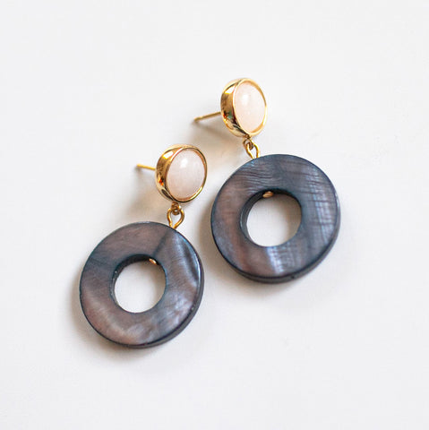 Blue Rings Earrings