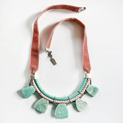Statement Amazonite Necklace
