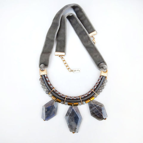 Statement Labradorite Necklace