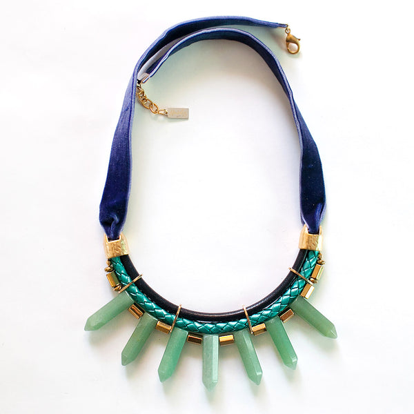 Statement Aventurine Necklace