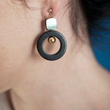 Onyx&MOP Earrings