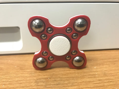 red white red jewel fidget spinner usa