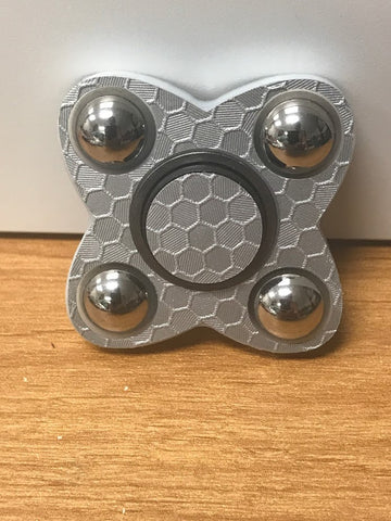 silver honeycomb sion fidget spinner usa