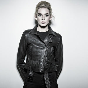 Alexi - Leather Bomber