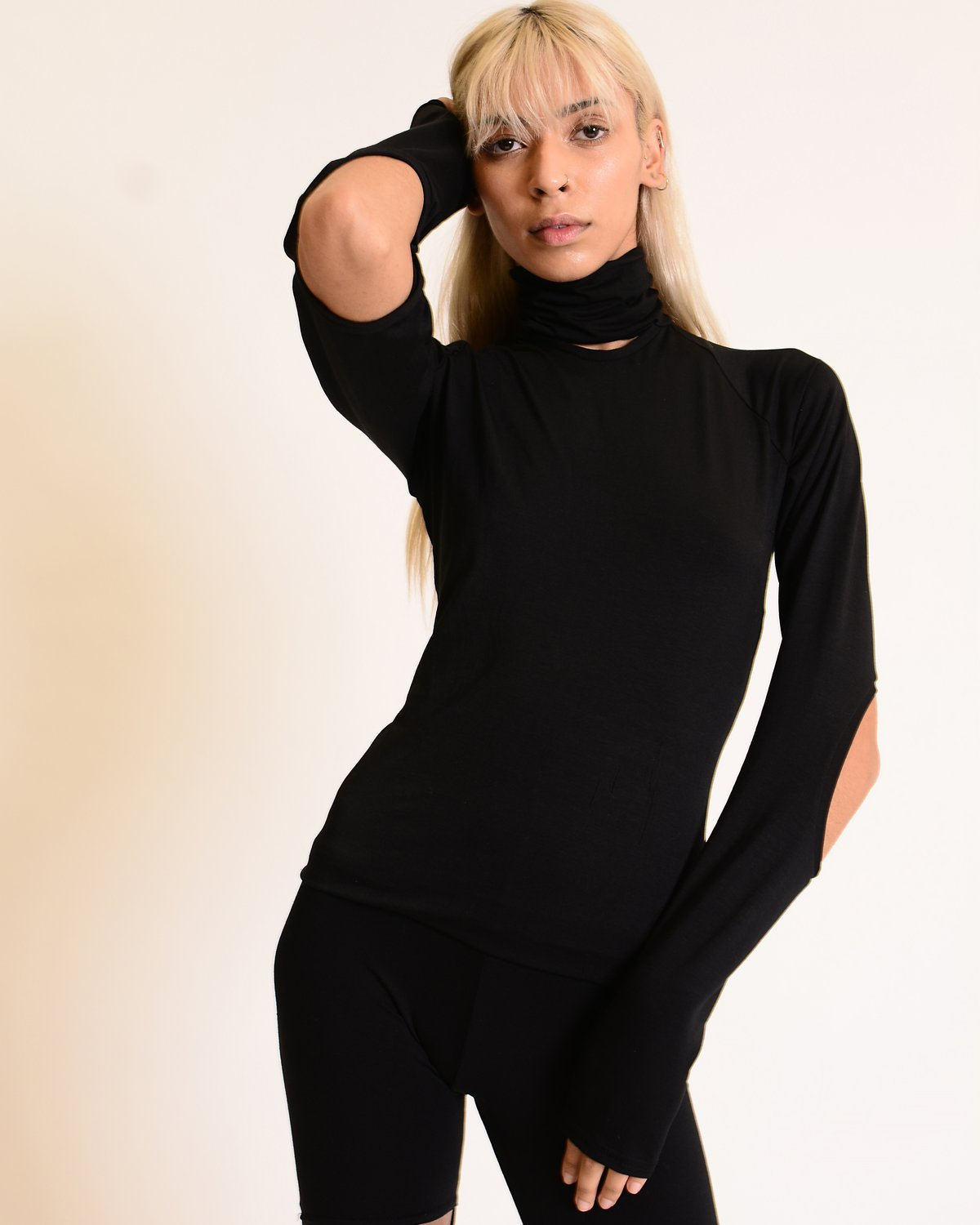 SARA ARMSTRONG Subtraction Turtleneck