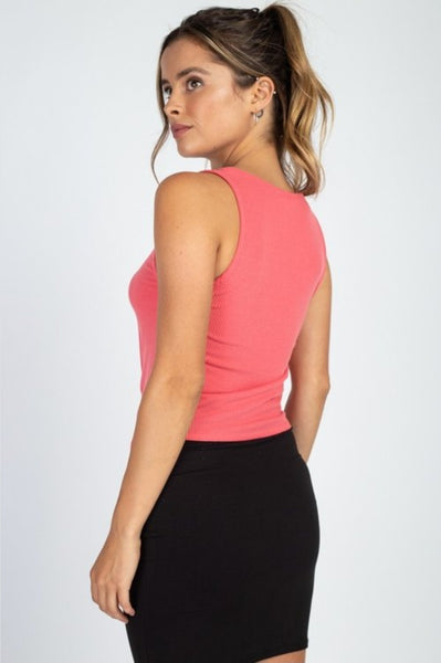 Sleeveless Tie top