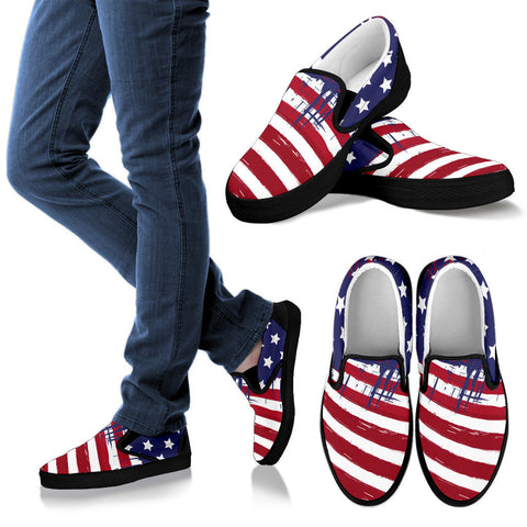 Image of Patriotic Men's Foot Wear