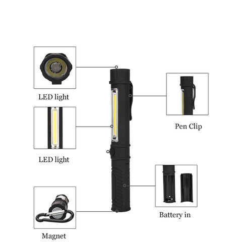 Image of EXCLUSIVE Limited Edition LED Torch Lamp