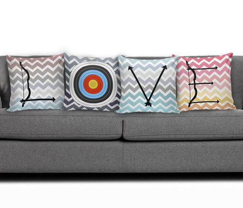 Image of LOVE Archery - Pillow Set FREE PLUS SHIPPING