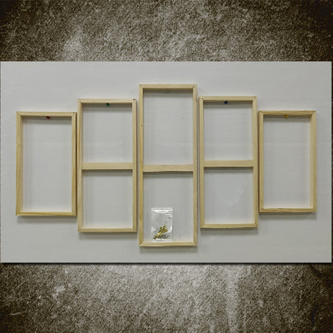 5pc Wooden Inner Frame For Canvas Painting Grouping - Multiple Sizes