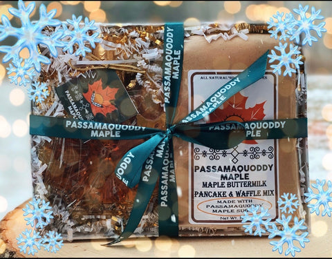 Snowflake Breakfast Gift Baskets