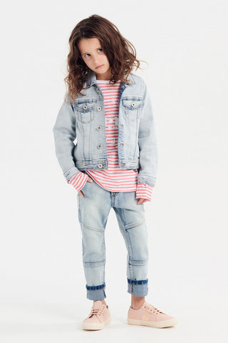 Denim Hi Lo Jacket