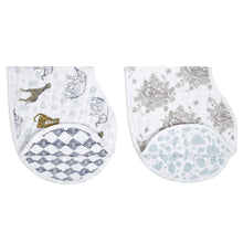 Load image into Gallery viewer, Burpy Bibs (2pack) - Jungle